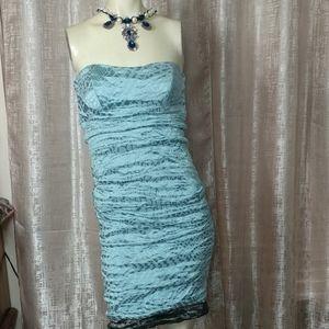 NICOLE MILLER Satin Dress